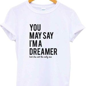 Other - John Lennon You May Say I'm a Dreamer Men's Tshirt